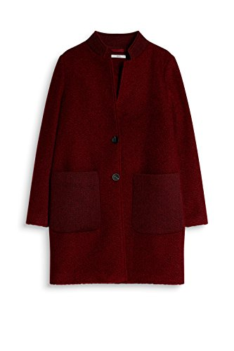 9dfad11bef61 Garnet Red Mantel edc Rot 620 by ESPRIT Damen HRPzzO4q   manners ...