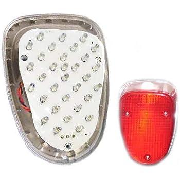 Newsmarts Motorbike Smoke LED Brake Taillight Tail Light with Braking Turn Signal for 1996-2013 YAMAHA Royal Star XVZ1300 1998-2010 YAMAHA V-Star 650 XVS650 Classic