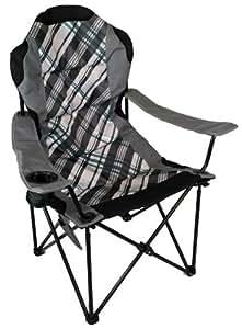 Amazon Com High Back Folding Camp Chair Padded Amp Drink
