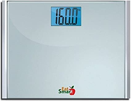 Amazon Com Eatsmart Precision Plus Digital Bathroom Scale With