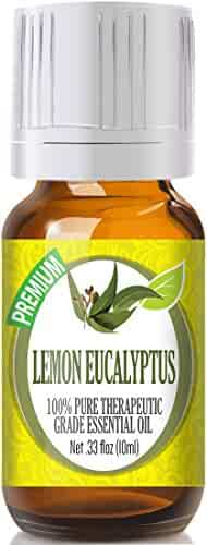 Lemon Eucalyptus 100% Pure, Best Therapeutic Grade Essential Oil -10ml