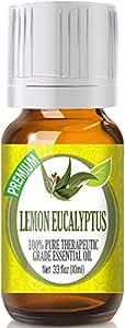 Lemon Eucalyptus 100% Pure, Best Therapeutic Grade Essential Oil -10ml