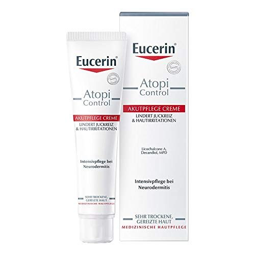 Eucerin AtopiControl 급성 케어 크림, 40 ml