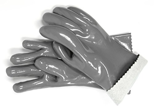 Charcoal Companion Heat Resistant Silicone BBQ Gloves