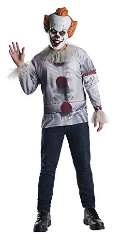 Pennywise The Clown Costume (Rubie's Costume Co Pennywise Adult Costume Top, Multi,)