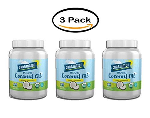 Pack of 6 - Carrington Farms Virgin Unrefined Coconut Oil, 54.0 FL OZ by Carrington Farms (Image #5)