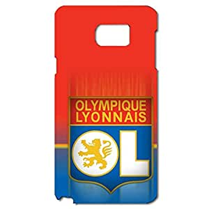 Shining Colourful Pattern UEFA Champions League Olympique Lyonnais Football Club Phone Case For Samsung Galaxy Note 5