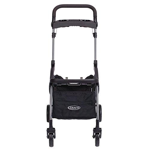 419Nk244NdL - Graco SnugRider Elite Car Seat Carrier | Lightweight Frame Stroller | Travel Stroller Accepts Any Graco Infant Car Seat, Black