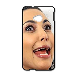 Kim Kardashian for HTC One M7 Cell Phone Case & Custom Phone Case Cover R31A651956