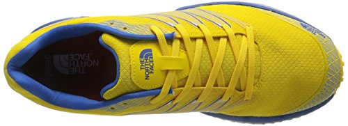 The North Face Litewave TR - Chaussures de running Homme - jaune/bleu Modèle 44 2016