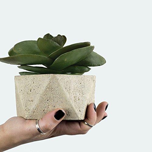 geometric-concrete-pottery-concrete-planter-pot-concrete-bowl-concrete-succulent-planter
