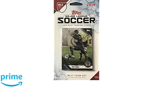 Philadelphia Union 2019 Topps Factory Sealed 11 Card Team Set with CJ Sapong and FAFA Picault Plus