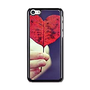 Iphone 5c Case, Iphone 5c Covers, Cateyes Hard Cover Case For Iphone 5c - Red Heart Design Pattern