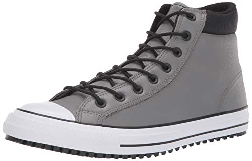 Converse Men's Chuck Taylor All Star High Top Boot Sneaker, Mason/Black/White, 10 M US