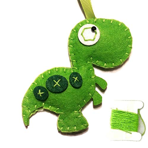 - MP Animal Crafting Sewing Kit - DIY Felt Stuffed Animal T-Rex Dino - for Boys and Girls - Travel Activity and Art Projects - Click to See All Animals / Styles!
