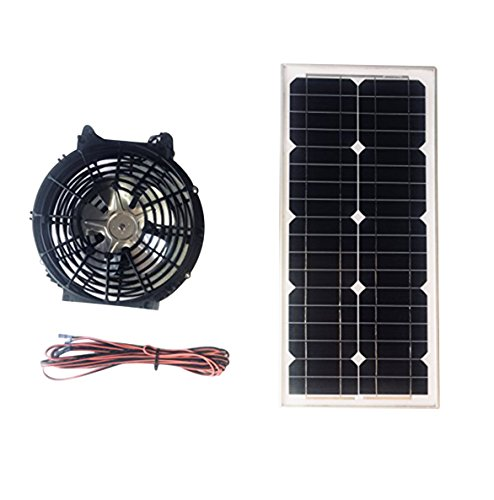 Powerful Portable Solar Fan 12