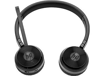 HP UC Wireless Duo Diadema Binaural Inalámbrico Negro - Auriculares (Inalámbrico, Diadema, Binaural