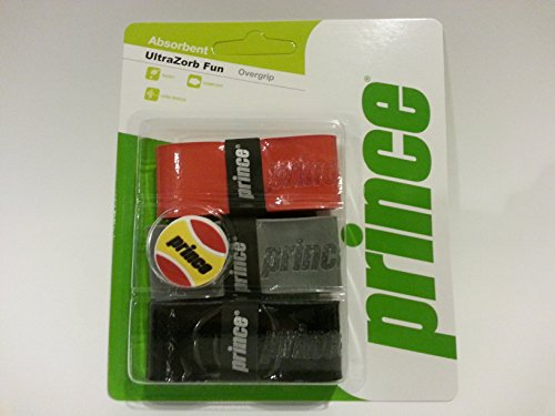 Prince Ultrazorb with Fun Dampener (Box of 12, 3 Packs)