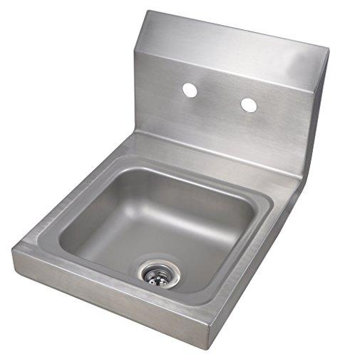 (BK Resource BKHS-W-SS Space Saver Hand Sink Bowl Size 9