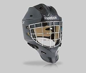 New Reebok 9K Pro hockey goal mask senior medium black RBK mens sr goalie helmet