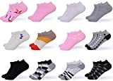 Gallery Seven Women's Ankle Socks - Low Cut Colorful Socks For Women - Size 9 -11 - 12 Pack (Style - 4)