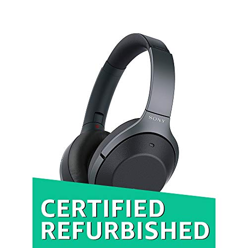(Sony WH1000XM2 Premium Noise Cancelling Wireless Headphones ? Black (WH1000XM2/B) (Certified Refurbished))