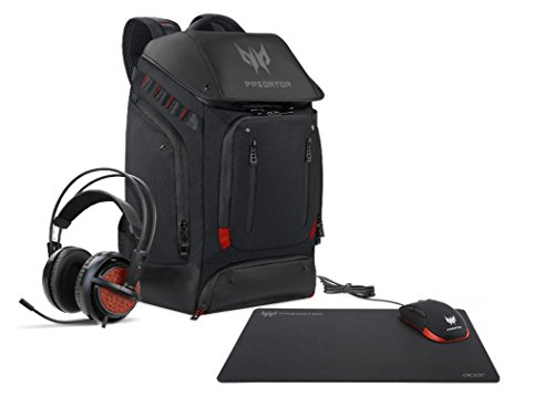 Acer Predator Gaming Kit (Mouse, Mousepad, Headset & Backpack)