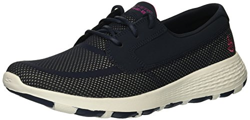 - Skechers Performance Women's on-The-Go Cool Boat Shoe,Navy/hot Pink,10 M US