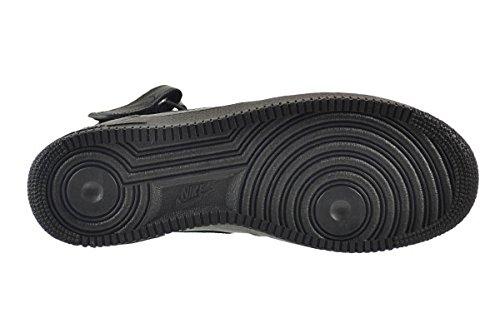 Nike Herren Air Force 1 Mid 07 Schuhe Zwart, Zwart-zwart