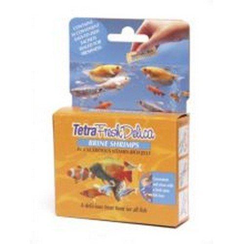 - Tetra Freshdelica Brine Shrimp - 16x3g