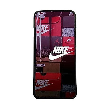 Funda carcasa para móvil logotipo nike con cajas de zapatillas case cover compatible con Samsung Galaxy J3 (2015 y 2016)