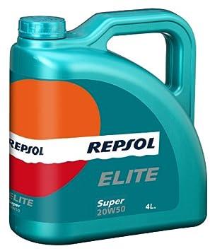 Repsol Elite Super 20 W50 - Aceite de motor (4 L): Amazon.es: Coche y moto