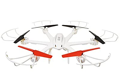 Drone with Live Camera, Ei-Hi® S19R 2.4GHz 4 Channel 6 Axis Gyro Remote Control RC UFO Hexacopter Drone with Real-Time Streaming FPV Camera (White)