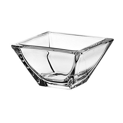 Crystal Square Bowls (Barski - European Glass - Small Fruit / Nut / Dessert Bowl - 4