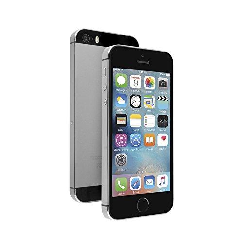 Apple iPhone 5S 16GB GSM Factory Unlocked Smartphone Gray (Renewed) (Iphone 5s Unlocked)