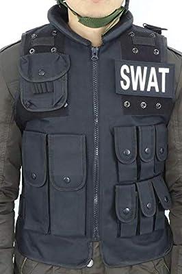 Sutekus SWAT Vest Survival Game Waistcoat