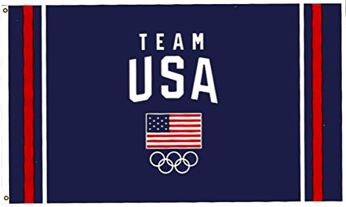 Team USA US Olympic Team USOC Deluxe 3x5 Foot Flag or Banner