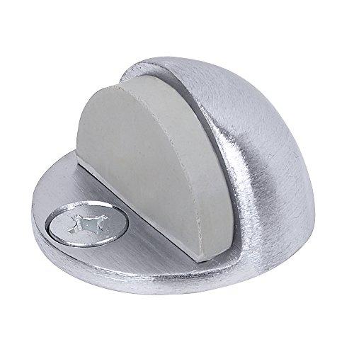 Cast Chrome Satin - Tell Manufacturing DT100033 Low Style Floor Stop, Satin Chrome Cast