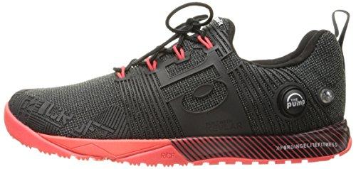 Reebok Women's r Crossfit Nano Pump FS-w Cross-Trainer Shoe, Black/Neon Cherry, 7 M US by Reebok (Image #5)