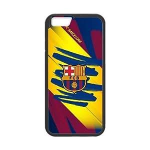 Plastic Case Pmzega iPhone 6 Plus 5.5 Inch Cell Phone Case Black Barcelona Generic Design Back Case Cover