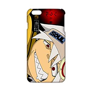 Angl 3D Case Cover Cartoon Soul Eater Phone Case for iPhone6 plus