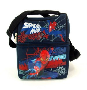 Lunch Bag - Spiderman - Double Compartment Tote Bag Case