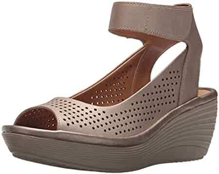 39be3d7c9451 Shopping CLARKS - Platforms   Wedges - Sandals - Shoes - Women ...