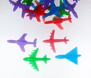 ~ 72 ~ Plastic Planes / Airplane Toys ~ 6 Per Package X 12 ~ 2 Inch ~ New