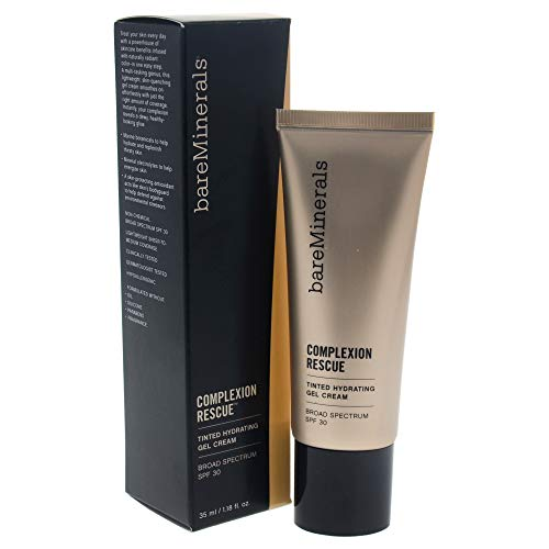 bareMinerals Complexion Rescue Tinted Hydrating Gel Cream SPF 30, Opal 01, 1.18 Ounce