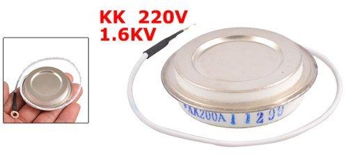 eDealMax 1.6KV 200A KK Hermétique Métal Type Shell disque Rapide redresseur SCR