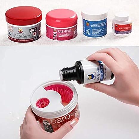 Amazon.com : Laliva 1PC Nail Tools Bath Manicure Gel Nail Polish Remover Easy Removing Liquid Makeup Tool Manicure Nail Art Nail Gel New design : Beauty