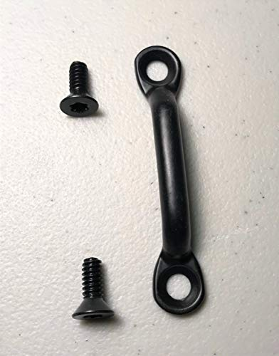 Jeep Wrangler CJ TJ YJ Door Limit Strap Footman Loop Bracket With Torx Screws ()