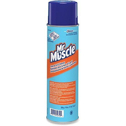 DIVERSEY GIDDS-880412 Mr. Muscle Aerosol Oven And Grill Cleaner, 19 oz ()