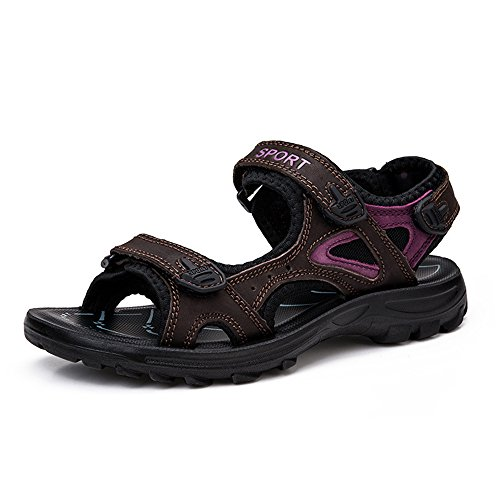 Shoe Sport Brown Flat (NiNE CiF Women's Outdoor Sport Hiking Sandals(7.5 B(M) US, Brown))